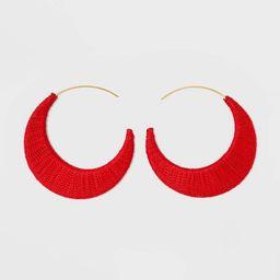 SUGARFIX by BaubleBar Threaded Hoop Earrings | Target