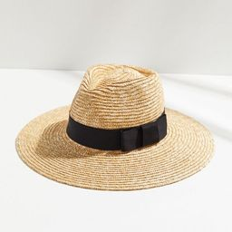 Brixton Joanna Straw Wide-Brim Fedora | Urban Outfitters (US and RoW)