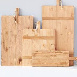 Reclaimed Pine Wood Rectangle Cheese Board   Pottery Barn (US)