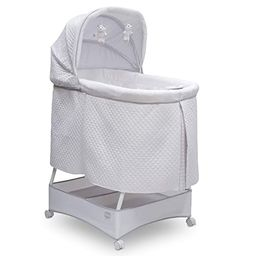 Simmons Kids Silent Auto Gliding Deluxe Bassinet, Inner Circle   Amazon (US)