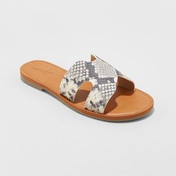 Women's Jenny Slide Sandals - Universal Thread™ | Target
