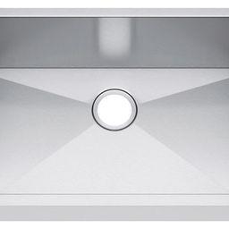 "33""x19"" Single Bowl Undermount Stainless Steel Kitchen Sink, Without Strainer | Houzz"