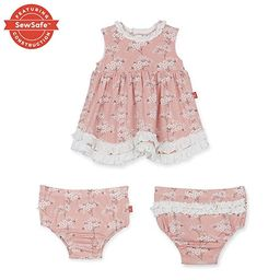 Magnificent Baby Magnetic Me Dress and Diaper Cover Set | Amazon (US)