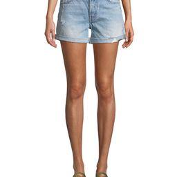 Levi's Premium 501 North Beach Blues Mid-Rise Denim Shorts | Neiman Marcus
