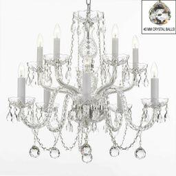 Kahler Swarovski 10-Light Candle Style Chandelier | Wayfair North America
