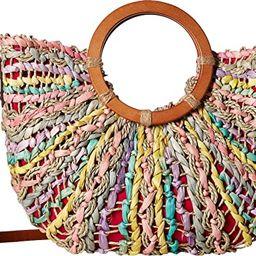 Patricia Nash Women's Straw Lesa Tote | Amazon (US)
