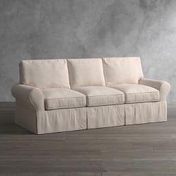 PB Basic Slipcovered Sofa | Pottery Barn (US)