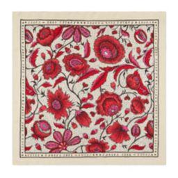 Silk Watercolor Floral Scarf   Bergdorf Goodman