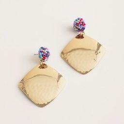 Colorful Seed Bead Stud-Drop Earrings   Chico's
