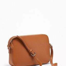 Faux-Leather Cross-Body Bag for Women | Old Navy US