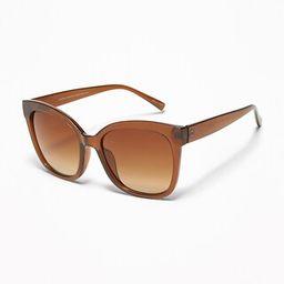 Oversized Square-Frame Sunglasses for Women | Old Navy US