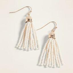 Beaded Tassel Drop Earrings for Women   Old Navy US