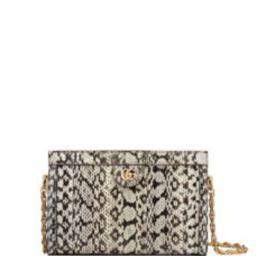 Ophidia Small Snake Chain Shoulder Bag   Bergdorf Goodman