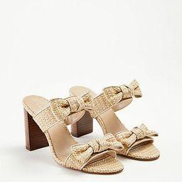 Janie Bow Heeled Sandals   Ann Taylor (US)