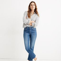 Cali Demi-Boot Jeans in Tierney Wash: Eco Edition   Madewell