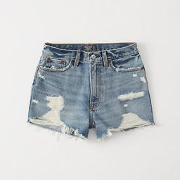Womens High Rise Denim Shorts | Womens Bottoms | Abercrombie.com | Abercrombie & Fitch US & UK