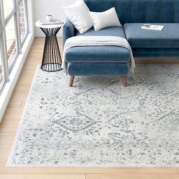 Dorothea Ivory/Grey Area Rug | Wayfair North America