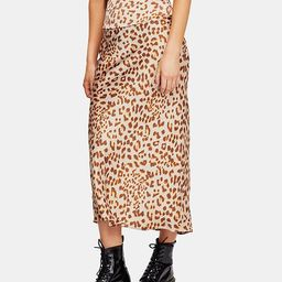 Free People Normani Bias-Printed Skirt  & Reviews - Skirts - Juniors - Macy's | Macys (US)