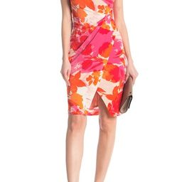 Taylor   Sleeveless Printed Dress   Nordstrom Rack   Nordstrom Rack