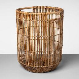 "Tall Natural Rattan Basket Natural Khaki 20.75""x16"" - Opalhouse™   Target"
