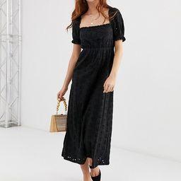 ASOS DESIGN prairie broderie maxi dress | ASOS US