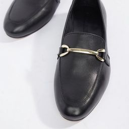 ASOS DESIGN Moment leather loafers   ASOS US