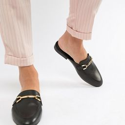 ASOS DESIGN Moves leather mule loafers   ASOS US