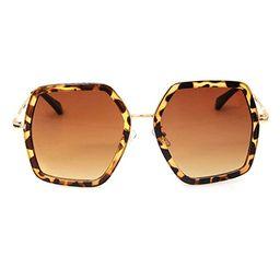 GAMT Oversized Square Sunglasses Women Vintage UV Protection?irregular Brand Designer Shades   Amazon (US)