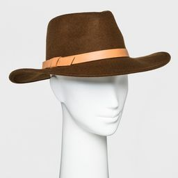 Women's Panama Hat - Universal Thread™ Brown | Target