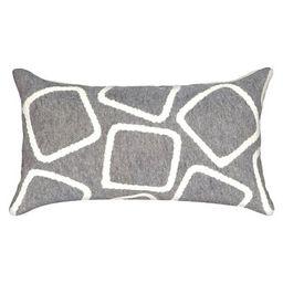 Silver Outdoor Throw Pillow - Liora Manne   Target