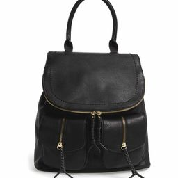 Emery Faux Leather Backpack | Nordstrom