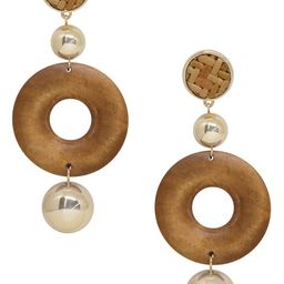 Ettika Wood Drop Earrings | Nordstrom | Nordstrom