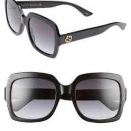 54mm Square Sunglasses   Nordstrom