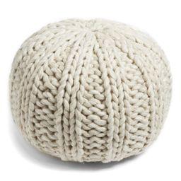 Chunky Knit Pouf | Nordstrom