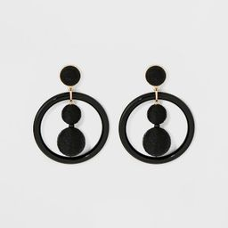 SUGARFIX by BaubleBar Whimsical Hoop Earrings | Target