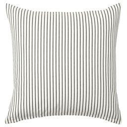INGALILL Cushion cover - white, dark gray stripe - IKEA | IKEA (DE)