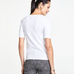 Applique Sweater Tee | Ann Taylor (US)