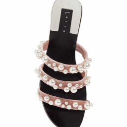 Stunner Embellished Strappy Slide Sandal | Nordstrom
