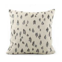 Black Cheetah Pillow Cover 18x18 with Zipper, Eurosham or Lumbar, Black Tan Pillow, Cheetah Print... | Etsy (CAD)