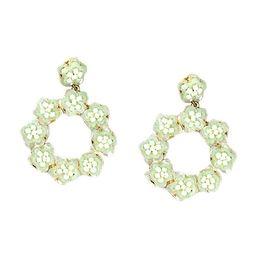 Bijoux Bar White Drop Earrings   JCPenney
