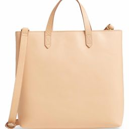 Small Transport Leather Crossbody Tote | Nordstrom