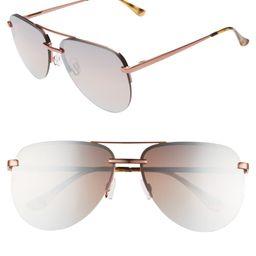 x JLO The Playa 54mm Aviator Sunglasses | Nordstrom