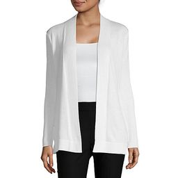 Liz Claiborne Womens Long Sleeve Open Front Cardigan | JCPenney