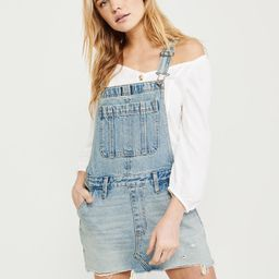 Denim Overall Dress   Abercrombie & Fitch US & UK