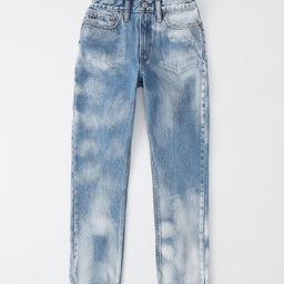 Acid Wash High Rise Mom Jeans | Abercrombie & Fitch US & UK