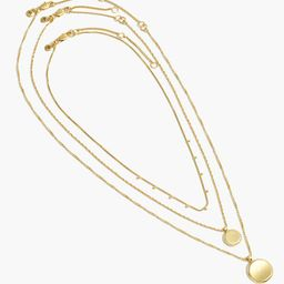 Coin Necklace Set   Madewell
