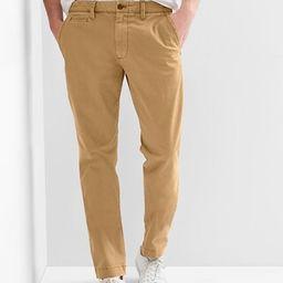 Vintage Khakis in Slim Fit with GapFlex   Gap US