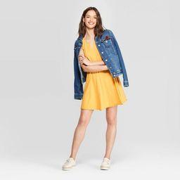 Women's Sleeveless V-Neck At Knee Tank Dress - Universal Thread™ | Target