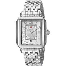 Michele Deco Madison Diamond Ladies Watch MWW06T000141 | Walmart (US)