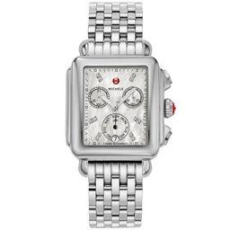 Michele Deco MWW06T000141 Madison Diamond Dial Watch | Walmart (US)